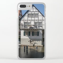 House in the water fisher quarter Ulm - Germany Clear iPhone Case
