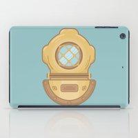 scuba iPad Cases featuring Scuba by CaseyIllustrates