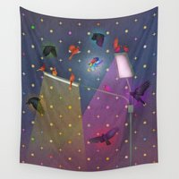 grace Wall Tapestries featuring grace by Lawson Grice