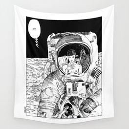 asc 333 - La rencontre rapprochée ( The close encounter) Wall Tapestry