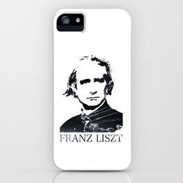 Franz Liszt iPhone Case