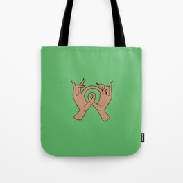 Stimming Hands II Tote Bag