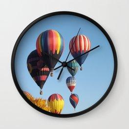 Balloons Arising  Wall Clock