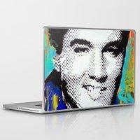 elvis presley Laptop & iPad Skins featuring Elvis Presley  by Paola Gonzalez