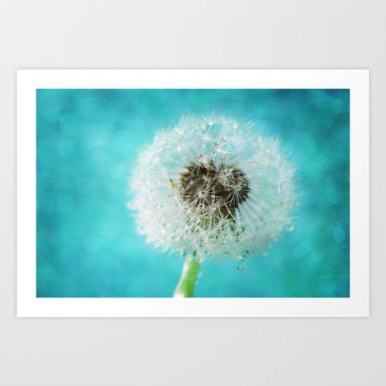dandelion-one Art Print