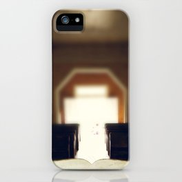 Let The Light Shine In -  Country Church iPhone Case