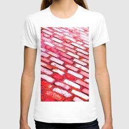 Diagonal Cobble Stones T-shirt