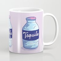 tequila Mugs featuring Tequila by - OP -