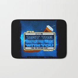 May the Brew be with You - The Coffee Wars - Jeronimo Rubio Photography and Art 2016 Bath Mat