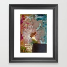 Dry Framed Art Print