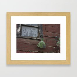 Lamps in the Beltline Framed Art Print