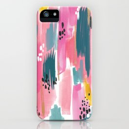 Seaside Abstract iPhone Case