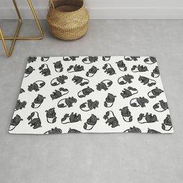 Malayan tapir Rug