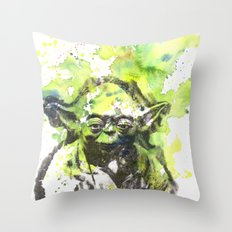 May the Force be with You Yoda Star Wars Throw Pillow