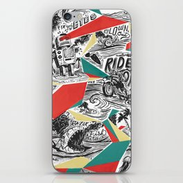 Mechtopia iPhone Skin