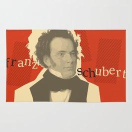 Franz Schubert Rug