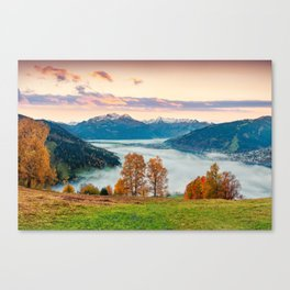 Beautiful Nature Concept Background Canvas Print