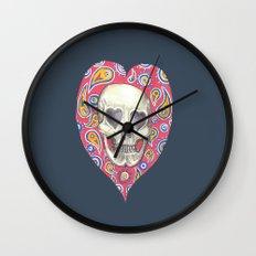 Skulladelia Wall Clock