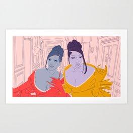 wap  Art Print