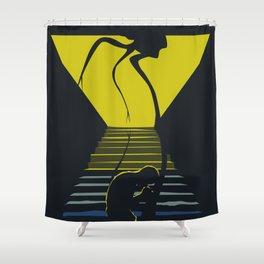 War of the Worlds Shower Curtain