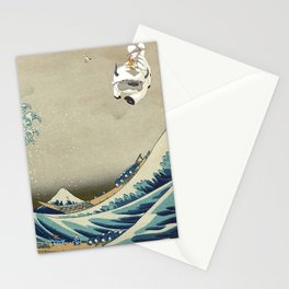 The Great Wave Off Katara Stationery Cards