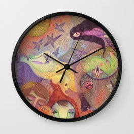 A Strange Fairytale Wall Clock
