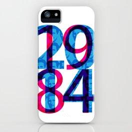 Orwell 1984 - 2014 iPhone Case