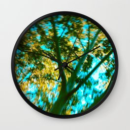 Underneath the Branches Wall Clock