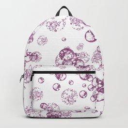 Arabidopsis protoplast cell microscopy pattern magenta on white  Backpack
