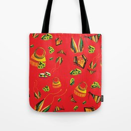 Summa Kente Tote Bag