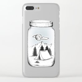 New Adventures Clear iPhone Case