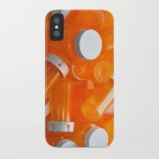 Pill Bottles iPhone X Slim Case
