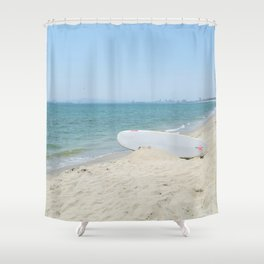 Edge of Long Beach Shower Curtain