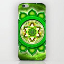 "Anahata Chakra - Heart Chakra - Series ""Open Chakra"" iPhone Skin"