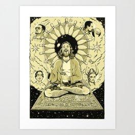 The Tao of Dude (The Big Lebowski) Art Print