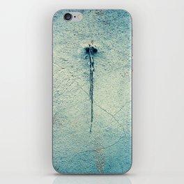 Turquoise Grunge Texture  2 iPhone Skin