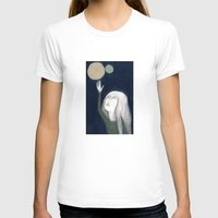 murakami T-shirts featuring two moons by martina troise
