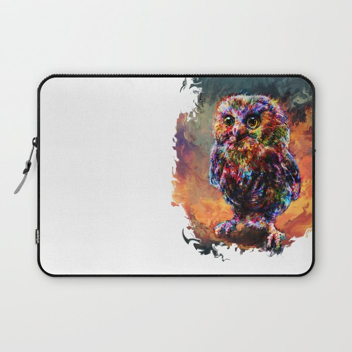 brave little owl Laptop Sleeve
