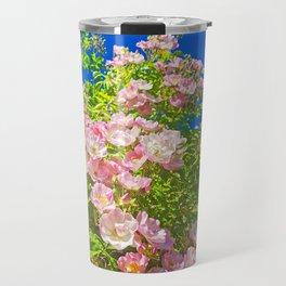Sun Soaked Roses Travel Mug