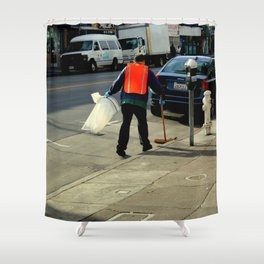 Catch The Wind-sweeper Shower Curtain