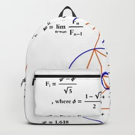 Golden Triangle / Logarithmic Spiral Backpack