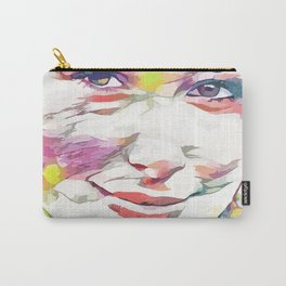 Hayden Panettiere (Creative Illustration Art) Carry-All Pouch