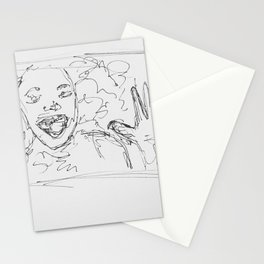 Museum Sketching Stationery Cards