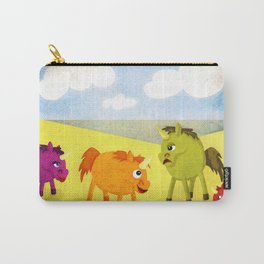Annoying Orange Unicorn V02 Carry-All Pouch