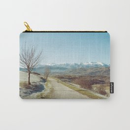 Mountains in the background Carry-All Pouch