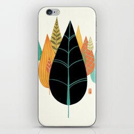 Fair Forest- Retro Orange Palette iPhone Skin