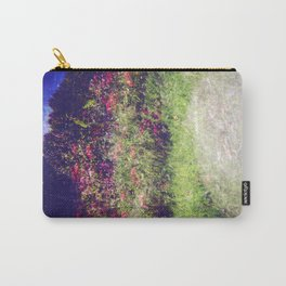Flowers Plastic Camera Double Exposure Carry-All Pouch