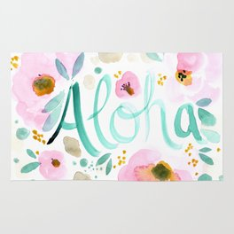 Aloha Floral Rug