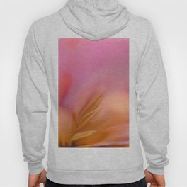Abstract Flower In Pink And Yellow Color #decor #society6 #homedecor Hoody