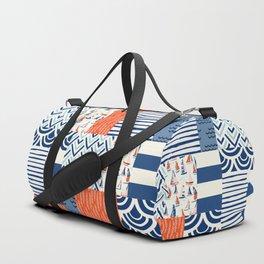 Beautiful Patch 9 (Nautical) Duffle Bag